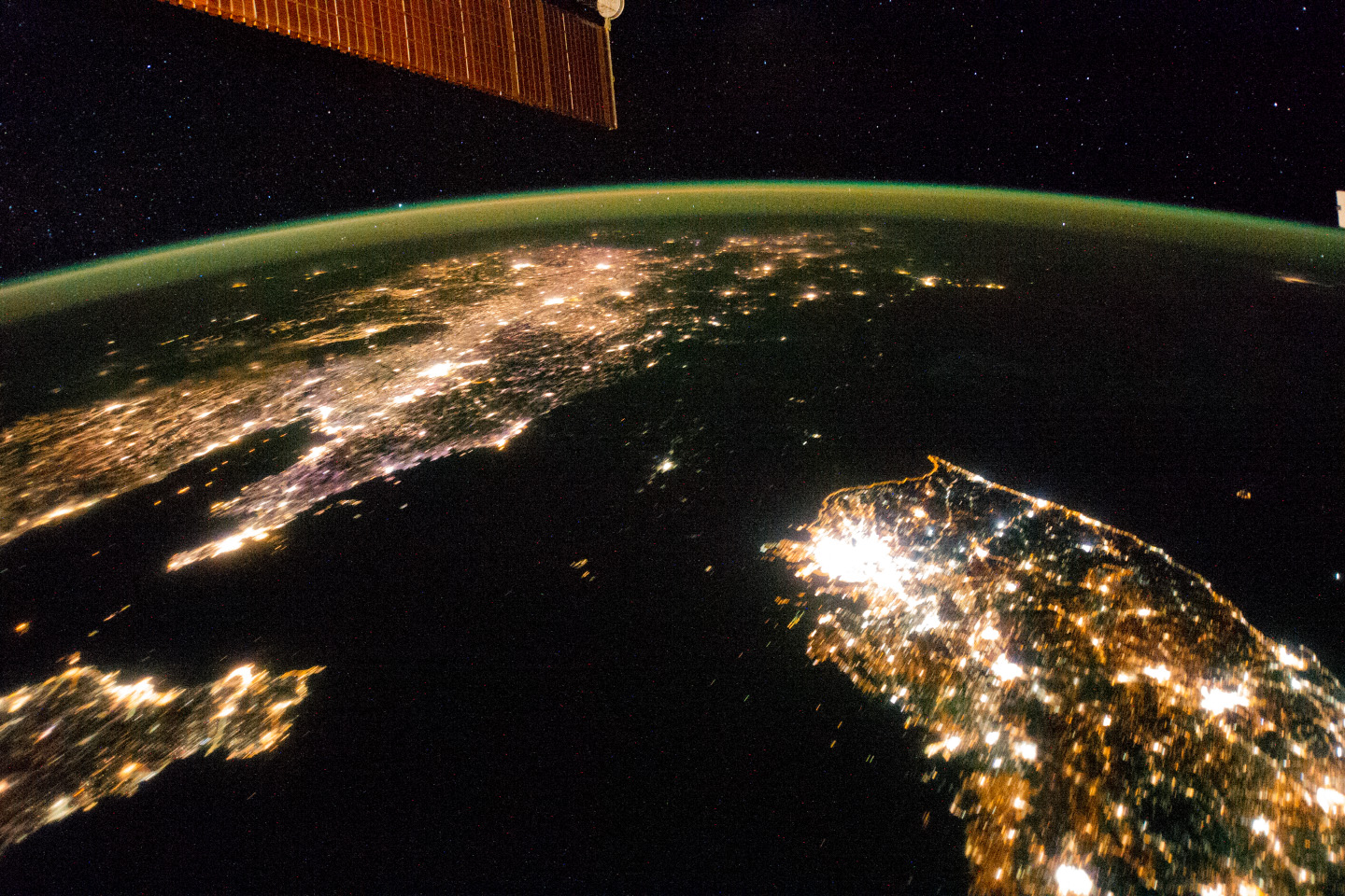 Lights Out for North Korea: Space Photo Reveals Country's Isolation