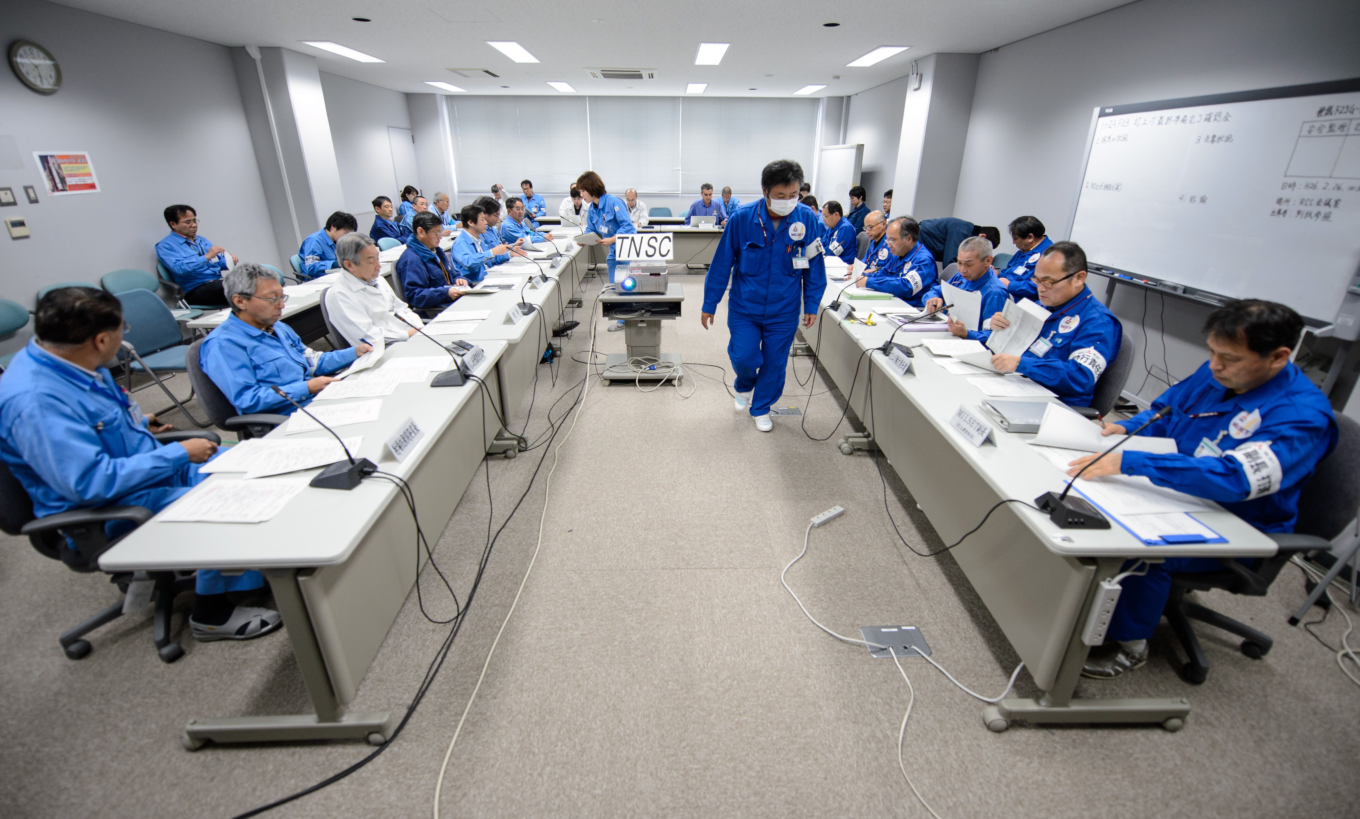 Officers Review Readiness of GPM Core Observatory for Launch