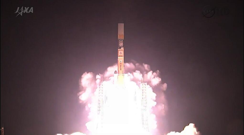 Liftoff! Japan Launches NASA's GPM Satellite