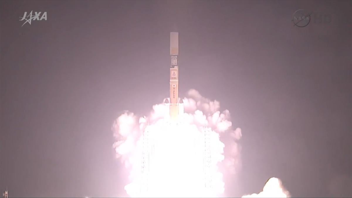 NASA-JAXA GPM Core Observatory Launch #2