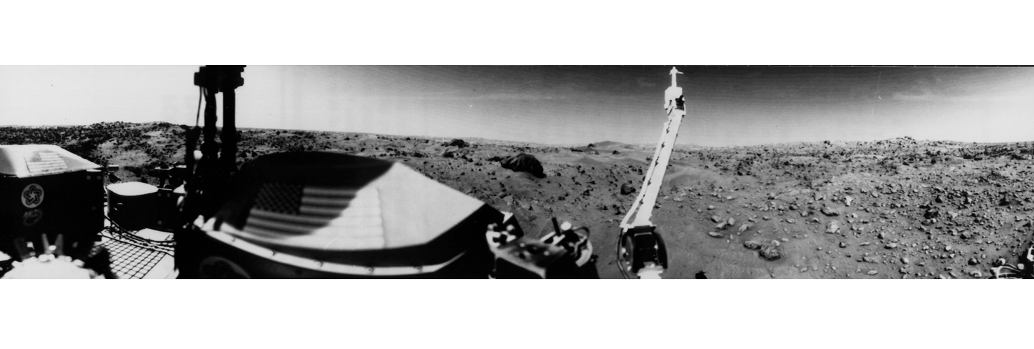 Space History Photo: First Picture of Mars