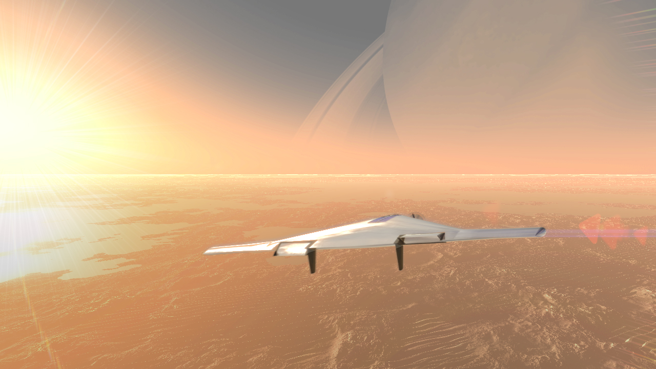 Incredible Technology: Inflatable Aircraft Could Cruise Venus Skies