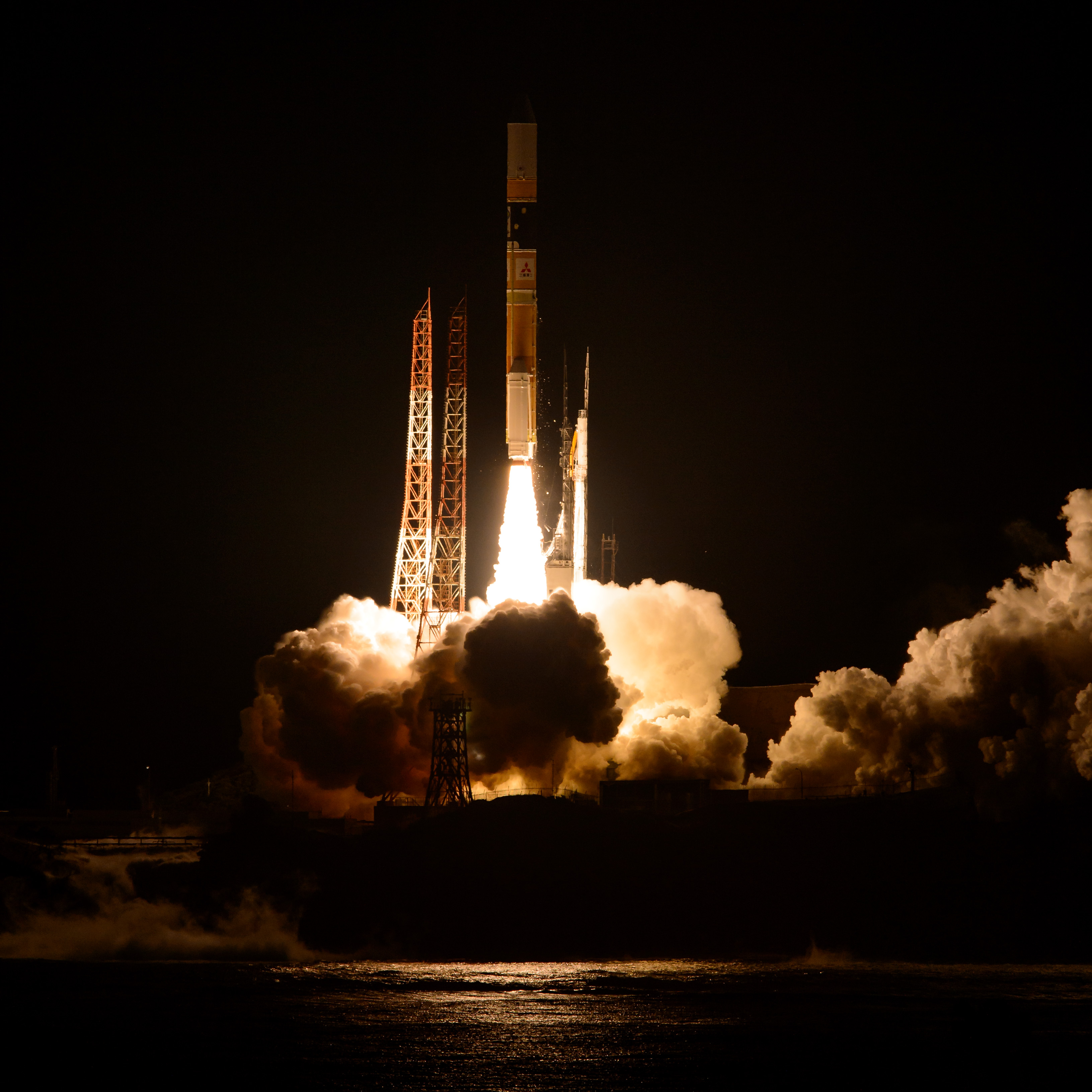 Japan Launches NASA's GPM Satellite