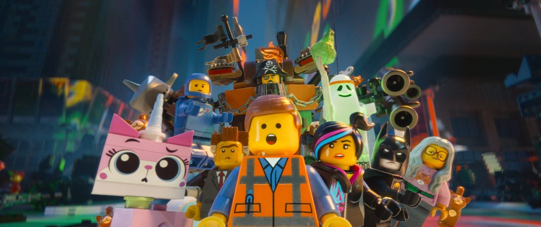 Build a Spaceship with 'The LEGO Movie'