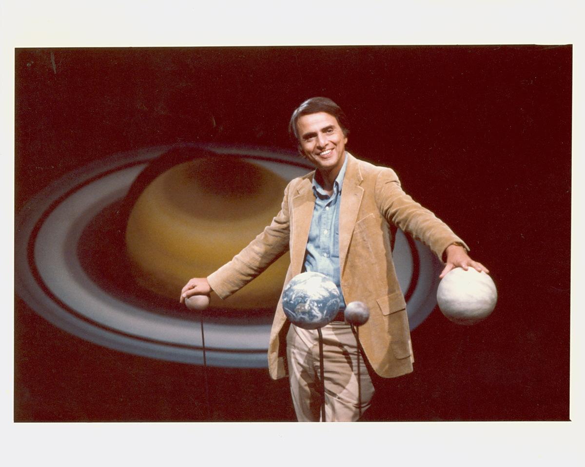 Carl Sagan and Models of Planets