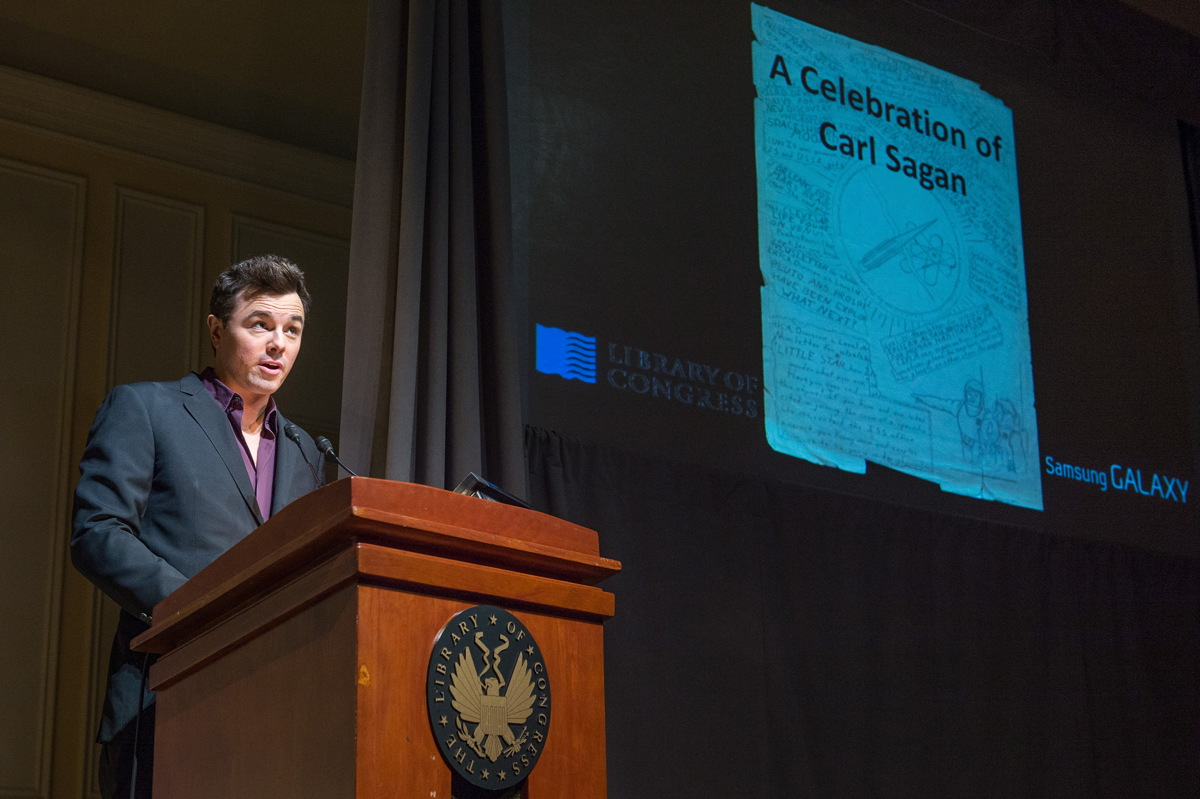 McFarlane Speaks at Library of Congress