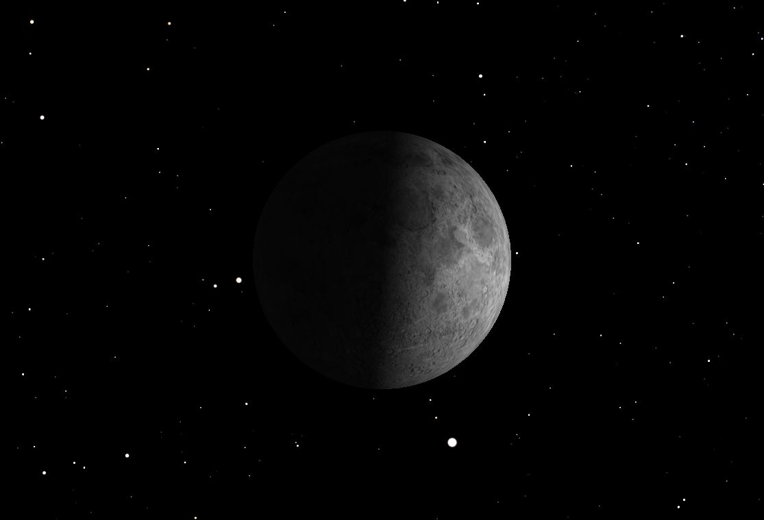 First Quarter Moon, March 2014