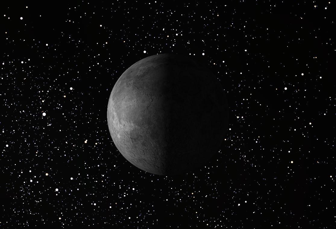 Last Quarter Moon, March 2014