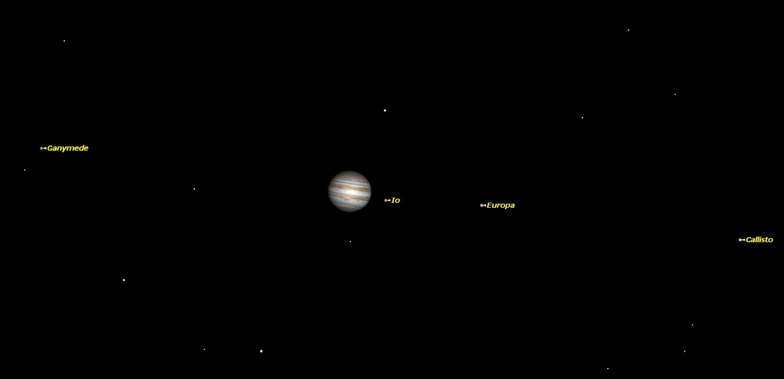 Jupiter, King of Planets, Dominates Night Sky This Week