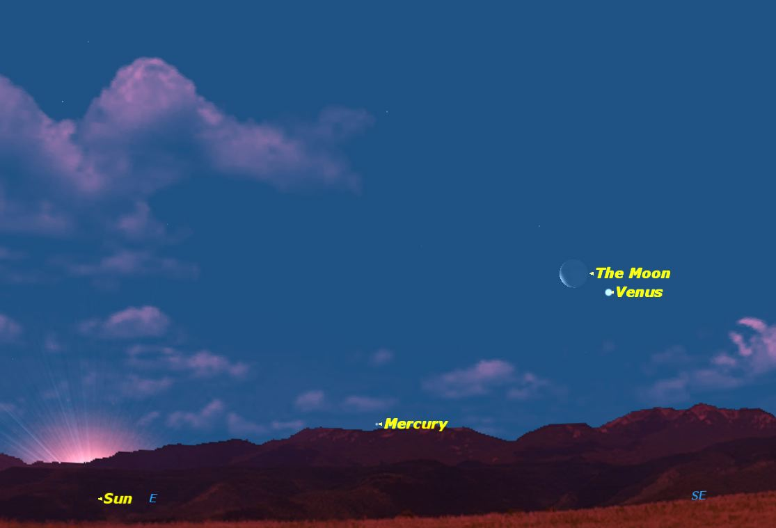 Venus and the Moon Dominate Predawn Sky Thursday: How to See It