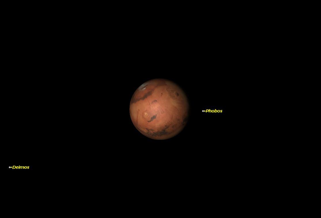 Mars, March 2014