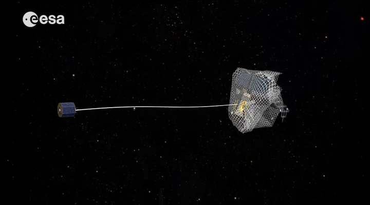 Snagging and Moving Space Junk