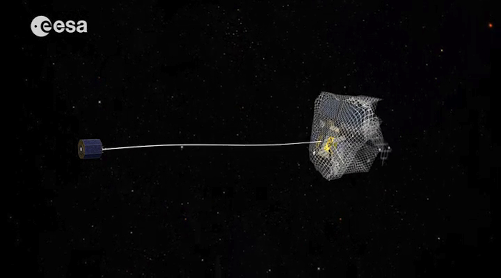 Europe Explores Ideas to Clean Up Space Junk