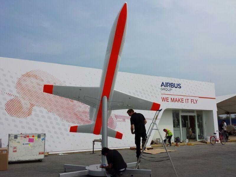 Airbus' Spaceplane Scale-Model Prototype
