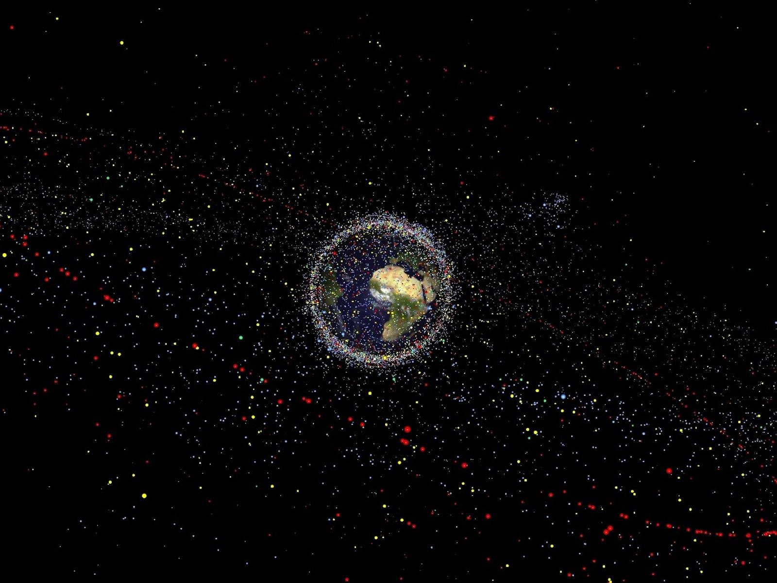 Space Junk | Space Wallpaper