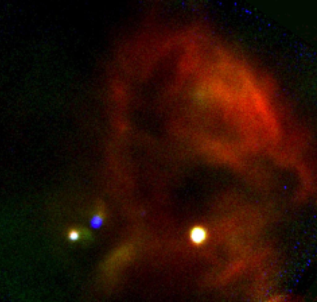 W40 Star-Forming Region SOFIA Observation