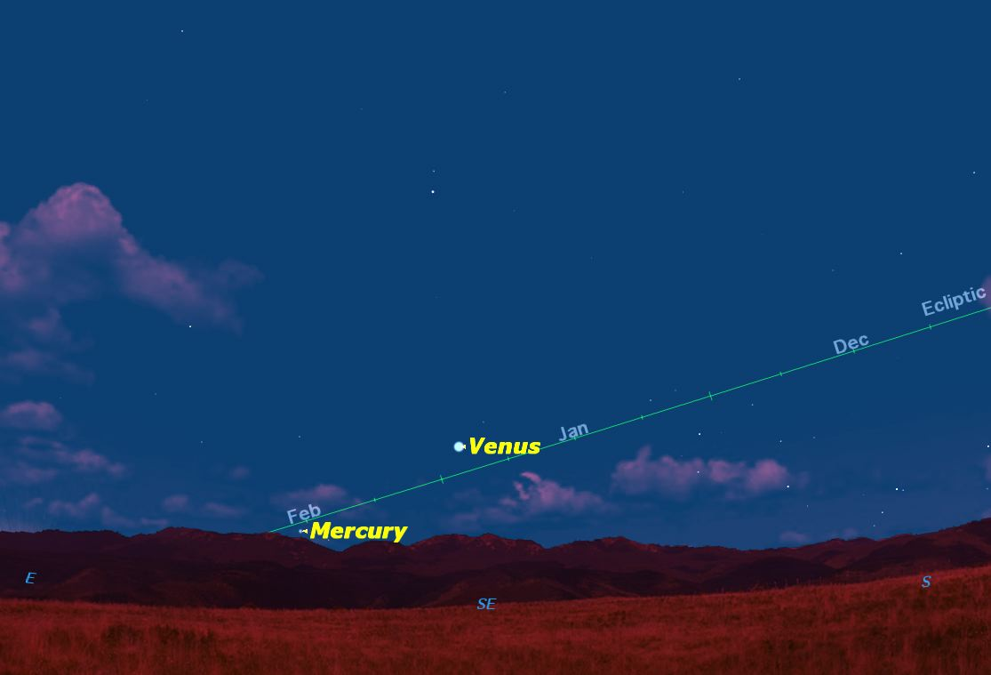 Elusive Mercury Visible in March's Dawn Sky: How to See It