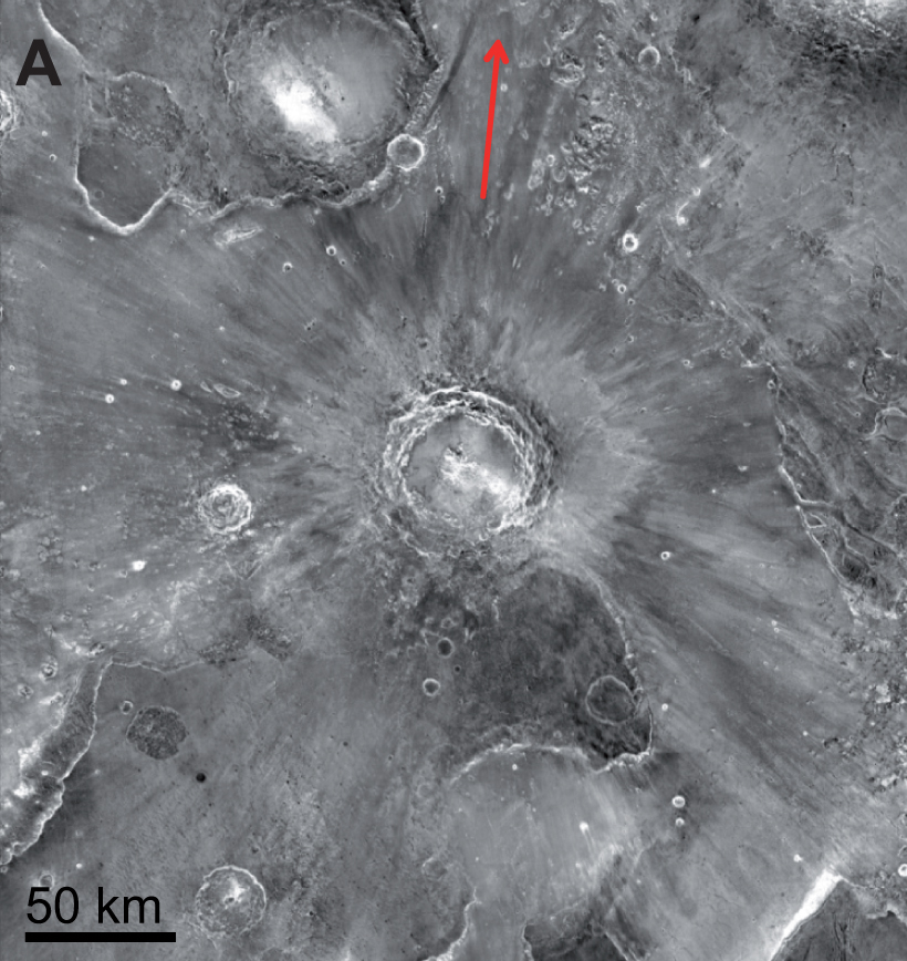Big Mars Impact Gave Earth Most of Its Martian Meteorites