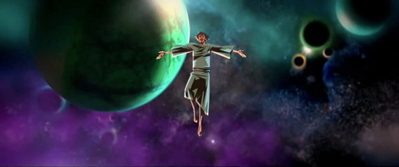 'Cosmos: A Spacetime Odyssey' television show comes to Fox in March 2014. Neil deGrasse Tyson hosts.