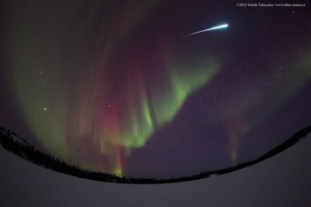 Fireball Over Vee Lake, Yellowknife, NWT, Canada #2