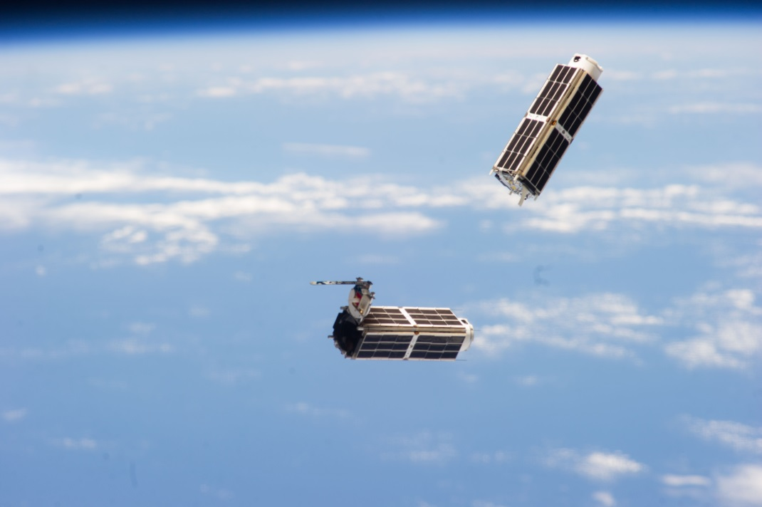 Record-Setting 33 Tiny 'Cubesats' Launched From Space Station