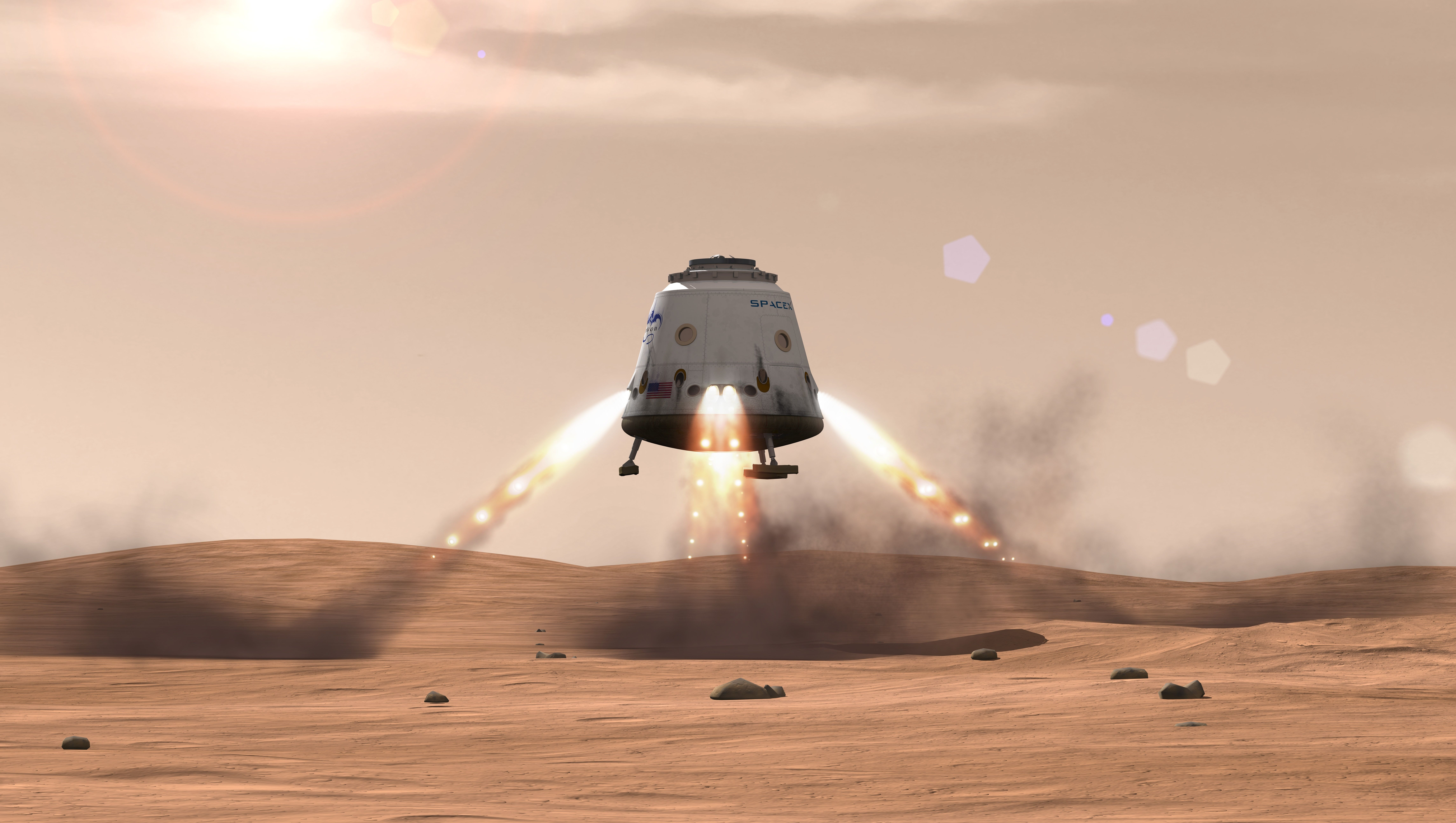 Project 'Red Dragon': Mars Sample-Return Mission Could Launch in 2022 with SpaceX Capsule