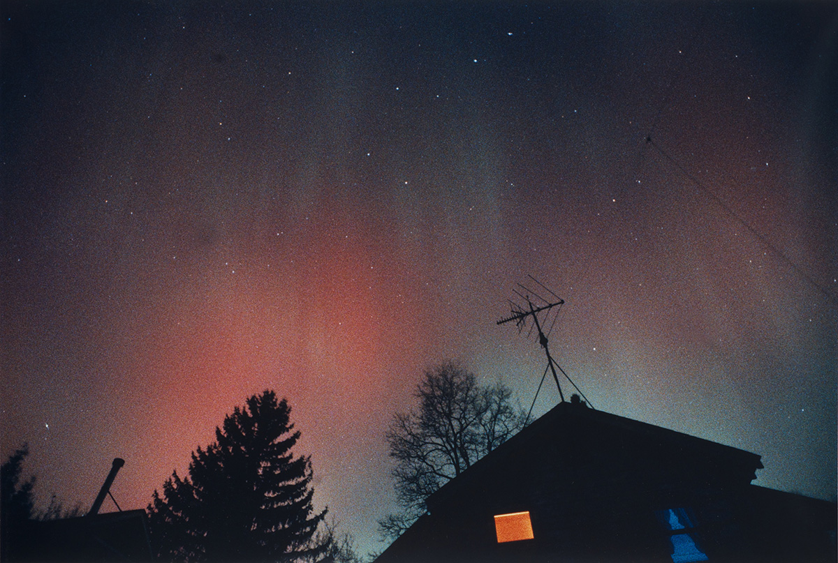 Aurora of March 13, 1989, from Sea Cliff, NY #3