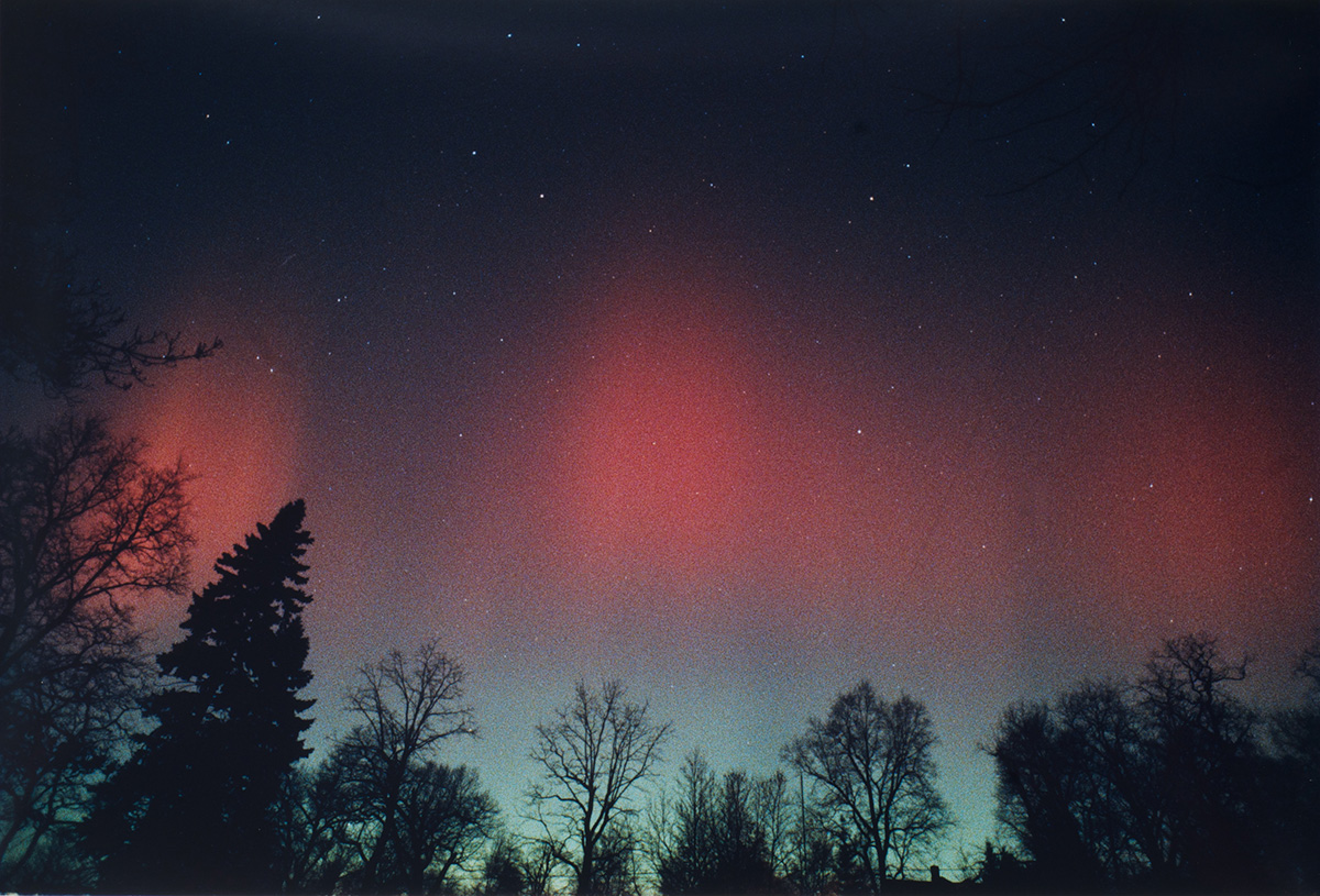 Aurora of March 13, 1989, from Sea Cliff, NY #4