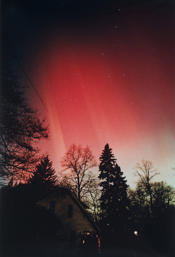 Aurora of March 13, 1989, from Sea Cliff, NY #5