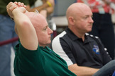 NASA Astronauts Mark Kelly and Scott Kelly, identical twins, are pictured participating in the Joint STS-134, Expedition 25 and Expedition 26 International Space Station Emergency Scenario training. At the time, both Kelly brothers planned to be at the space station at the same time for a joint 2011 shuttle-station mission.
