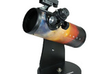 "COSMOS FirstScope Telescope, Celestron Newtonian reflector optical system features a spherical mirror with a generous 76 mm of aperture. <a href=""http://store.hermanstreet.com/themes/cosmos-firstscope-telescope/skin-Space?ICID=Space-article"">Buy Here</a>"