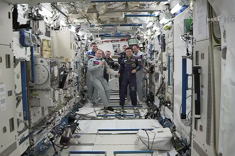 Japanese Astronaut Koichi Wakata Takes Command of Space Station