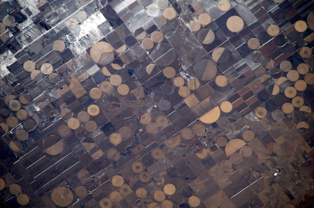 Mike Hopkins: America's Heartland Seen from ISS
