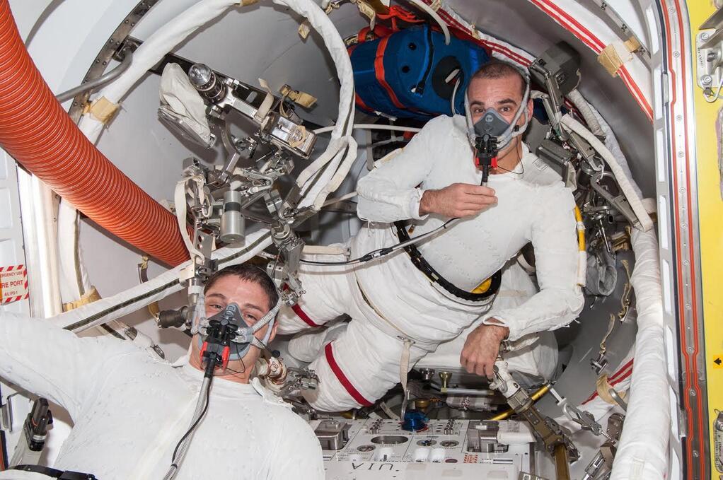 Rick Mastracchio: Spacewalk Masks
