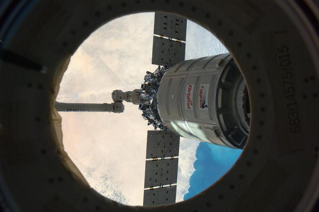 Rick Mastracchio: Cygnus 1 Leaves ISS
