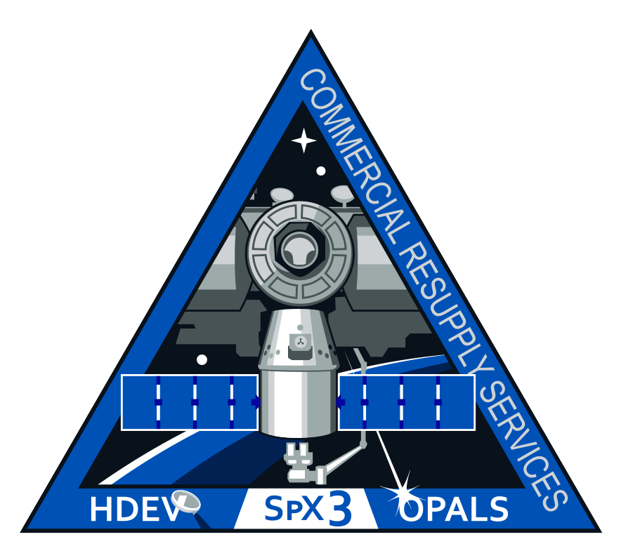 SpaceX's Third Commercial Resupply Services Mission Patch