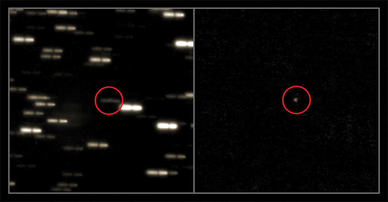 Rosetta's Brightening Comet Emerges From Behind the Sun