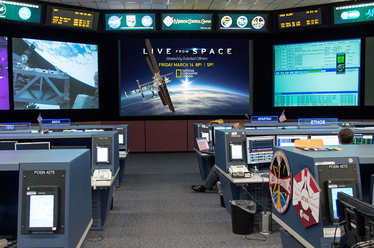 Houston, We're 'Live From Space': National Geographic to Go Live with Space Station