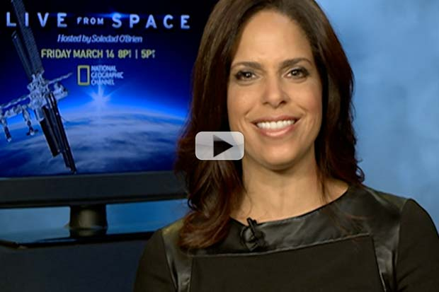 'Live From Space' Host Soledad O'Brien Would Love a Space Trip (Exclusive Video)