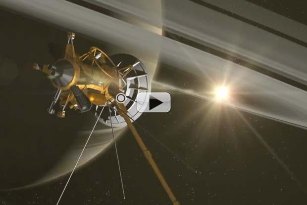 Probe To Fly Between Saturn And Its Rings | Video