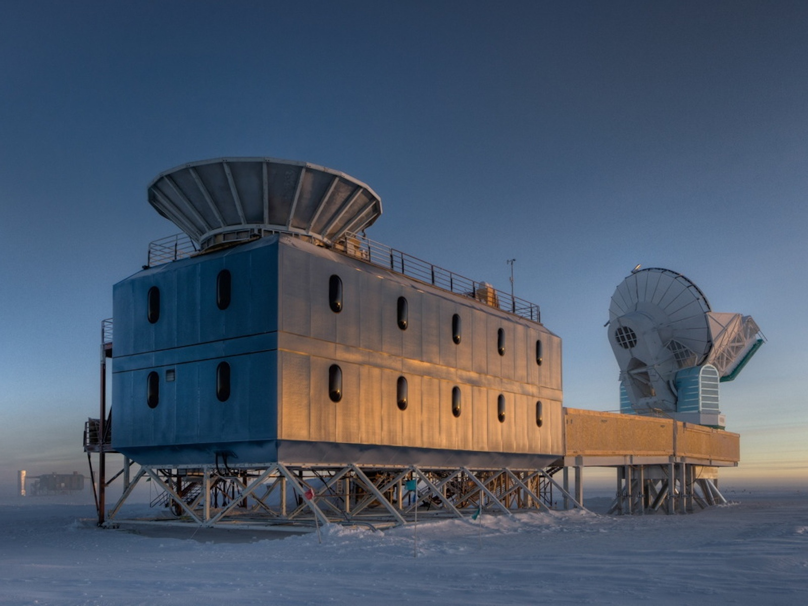 Dark Sector Lab | Space Wallpaper