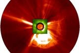 Two coronal mass ejections collided near the sun, creating a powerful 'perfect storm' of charged particles that could have had a dramatic effect on Earth. The solar storms occurred on July 22 and 23 in 2012.