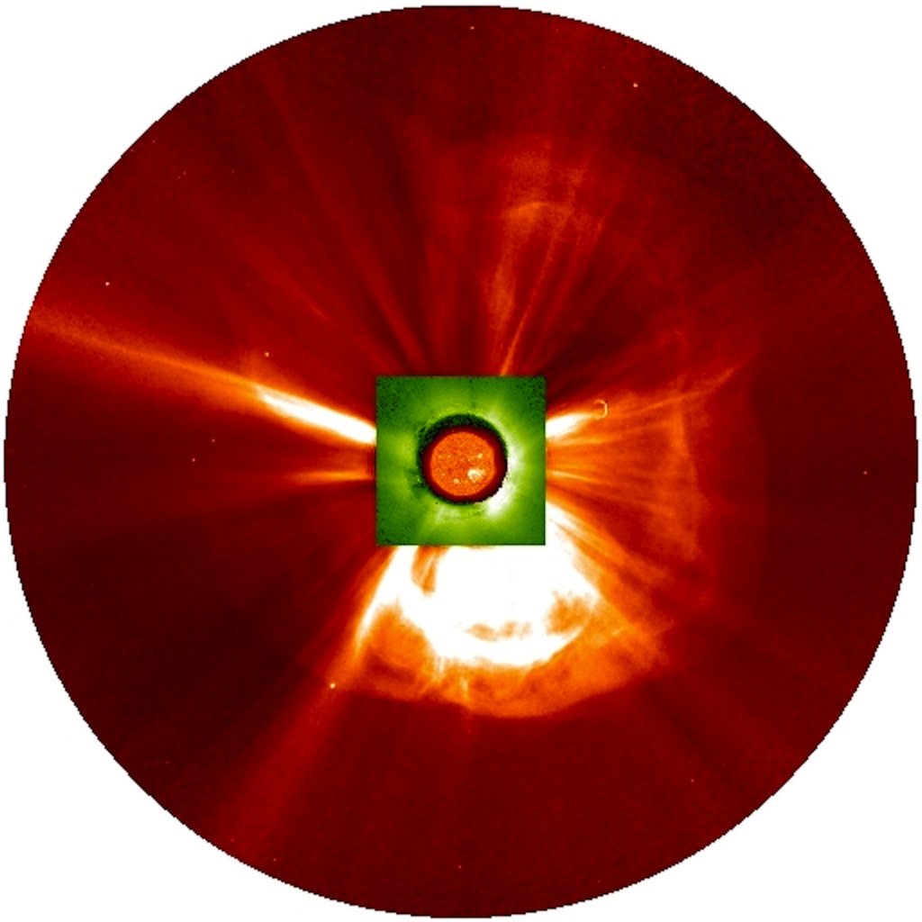 Colliding Solar Eruptions Created 'Perfect Storm' in Space