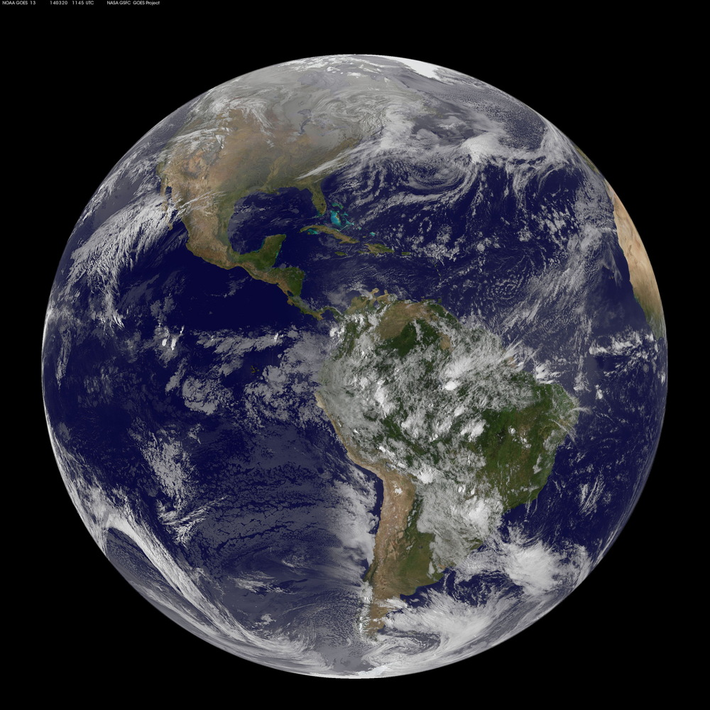 Vernal Equinox: First Day of Spring Seen from Space (Photo)