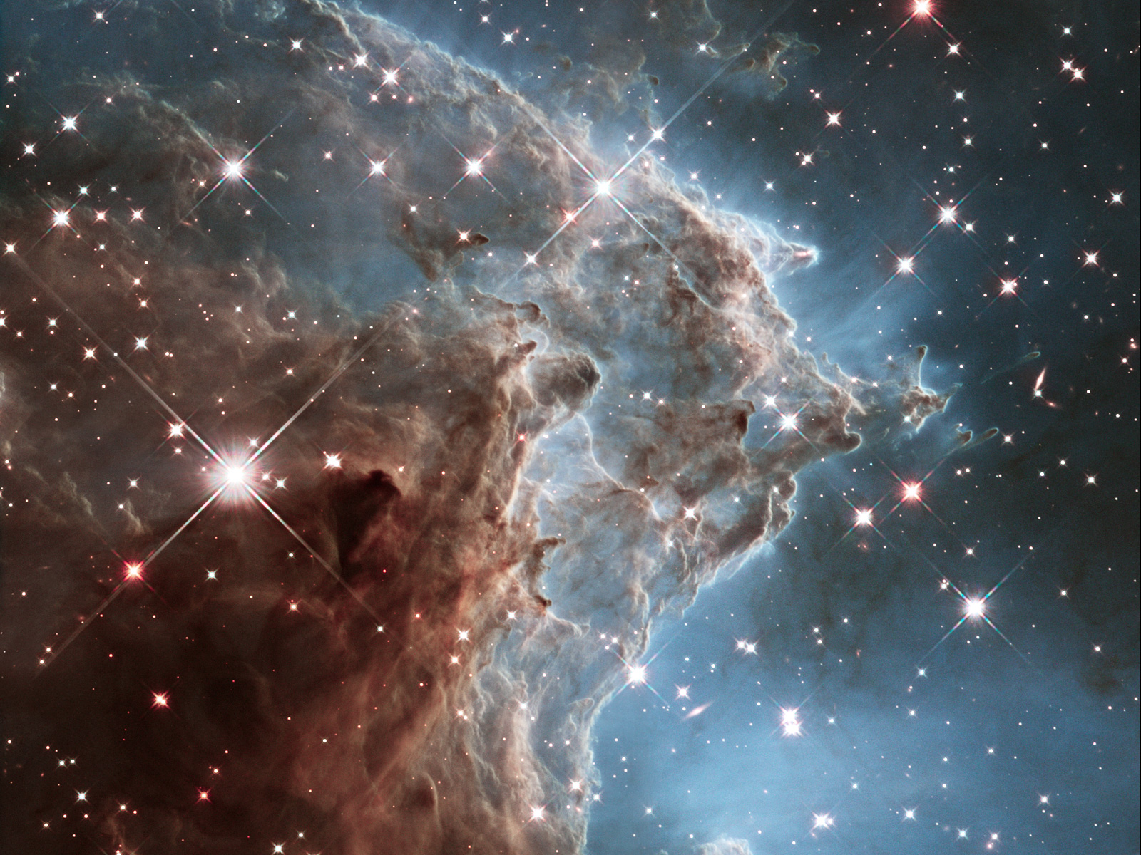 Magnificent 'Monkey Head' Nebula | Space Wallpaper