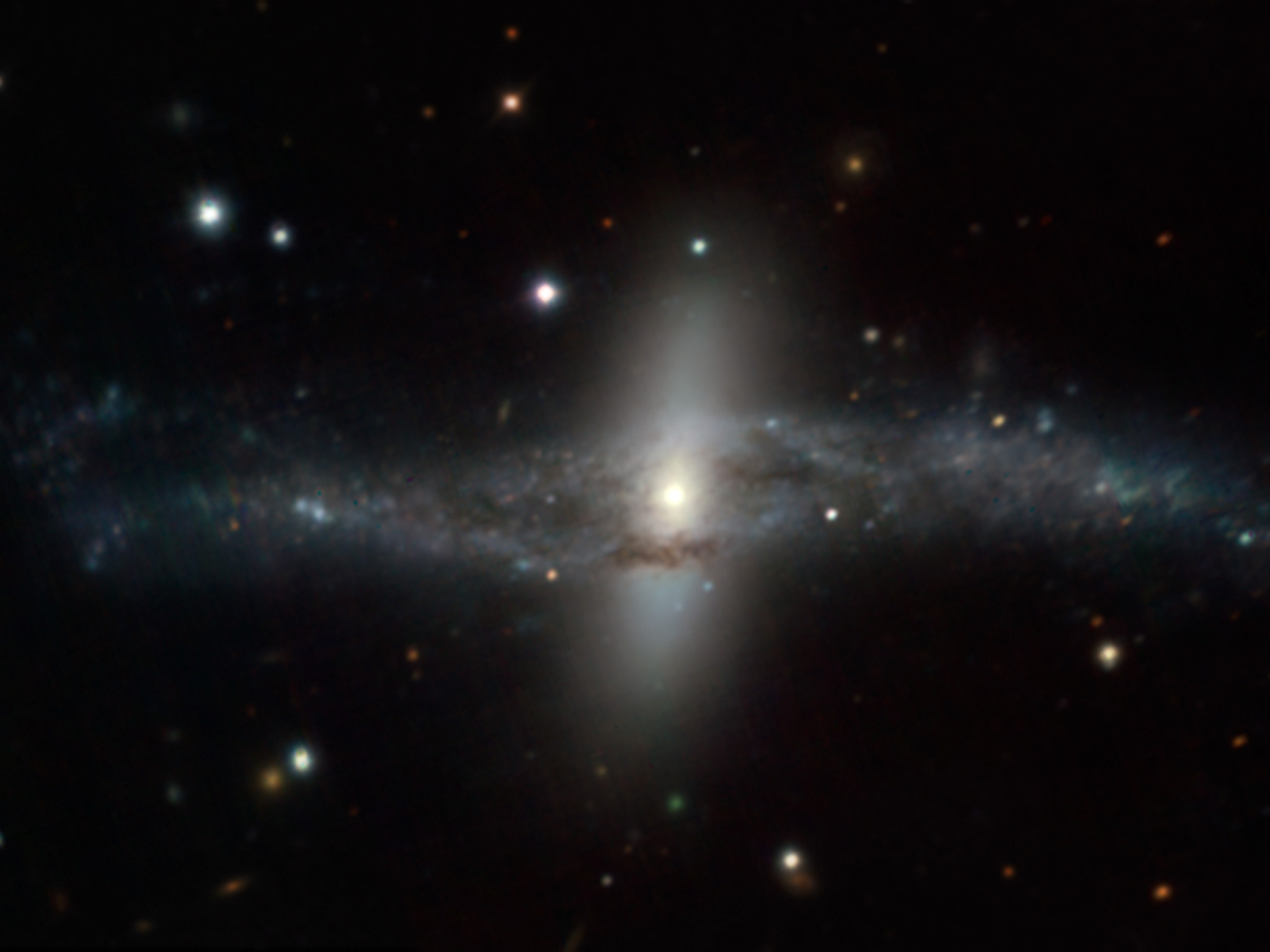 MUSE Image of NGC 4650A