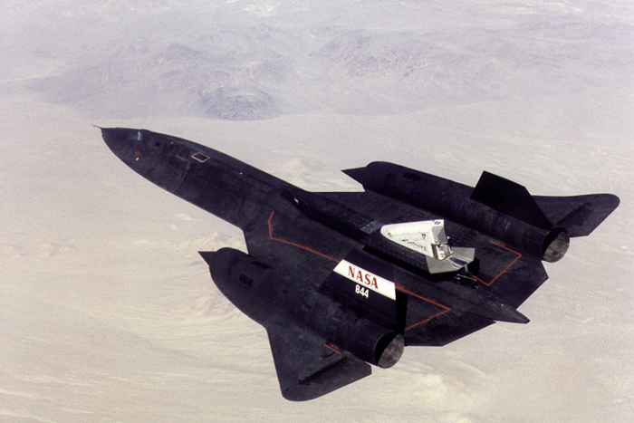 Space History Photo: Linear Aerospike SR-71 Experiment (LASRE)