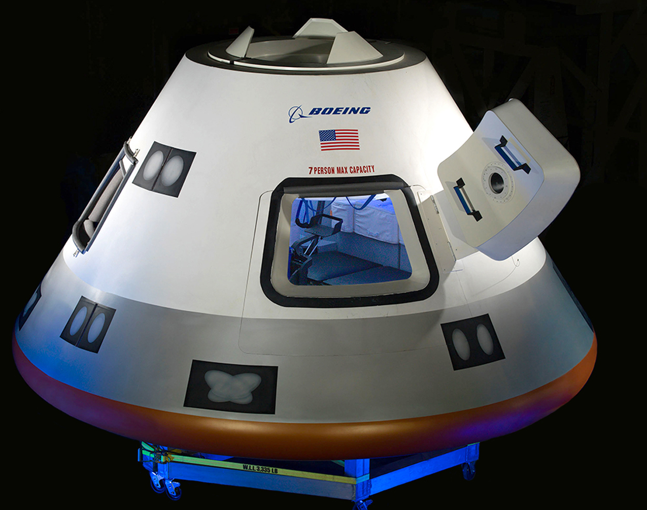 Apps in Space! Boeing Looking at Mobile Tech for New Astronaut Taxi