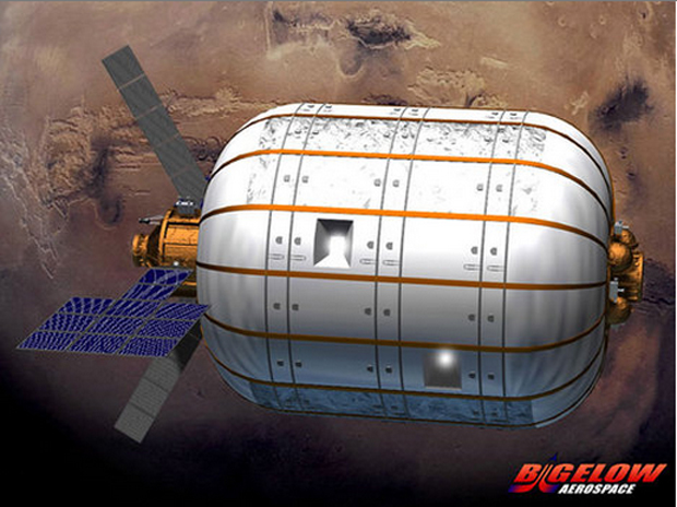 Bigelow Aerospace BA 330 at Mars