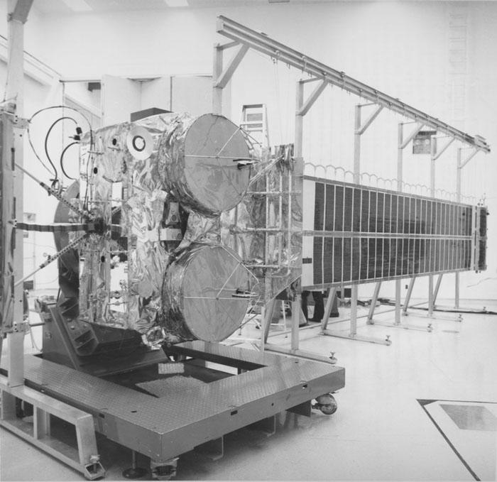 Space History Photo: Communication Technology Satellite